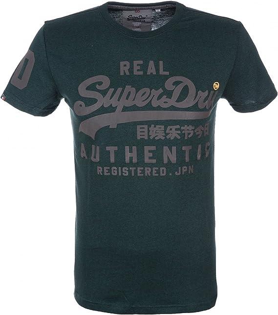 SUPERDRY Vintage Authentic Duo Tee, Camisa de Pijama Para Hombre: Amazon.es: Ropa y accesorios