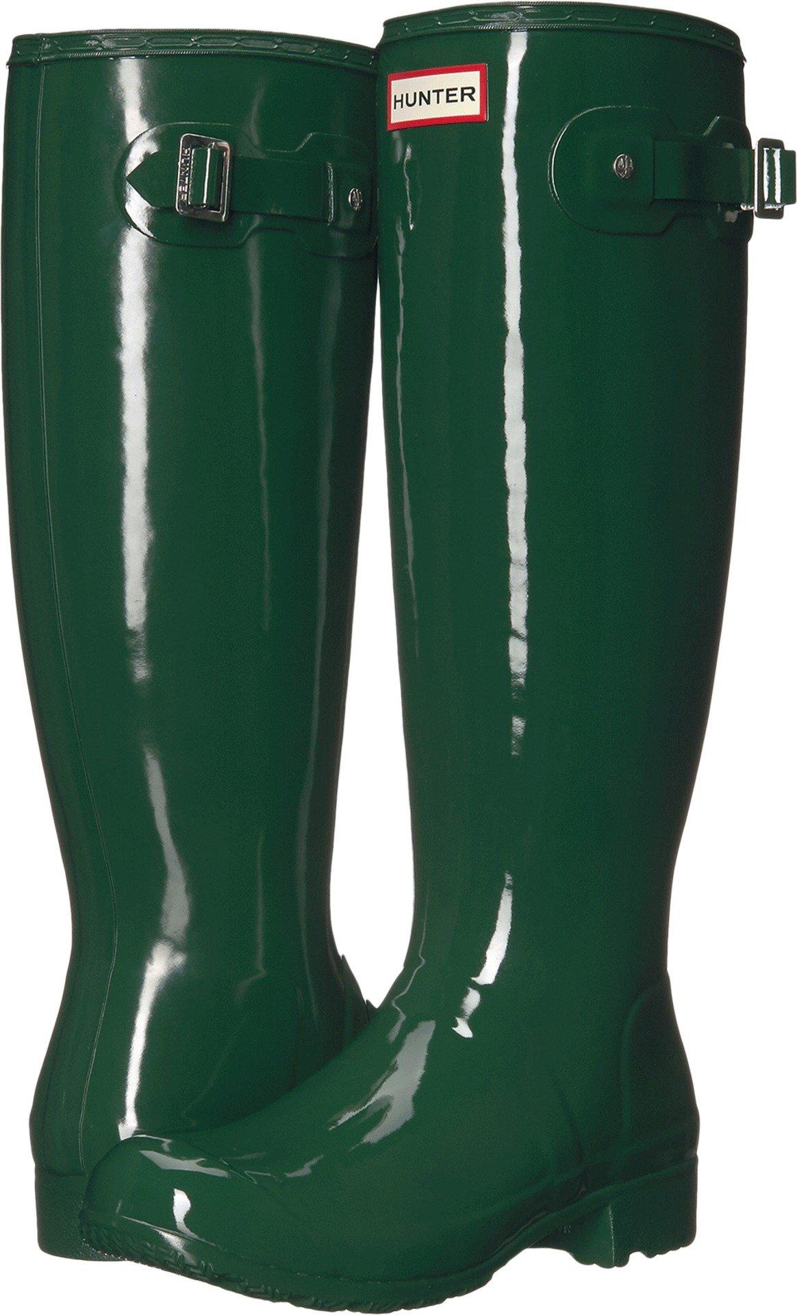 Hunter Original Tour Hunter Green Women's Rain Boots 10 M