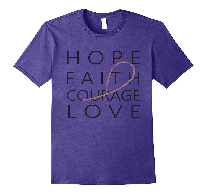 Breast Cancer Awareness Tshirt Survivor Never Give Up-T-Shirt