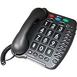 Geemarc AMP40_ANT_IF Téléphone filaire amplifié spécial malentendant (version Française)