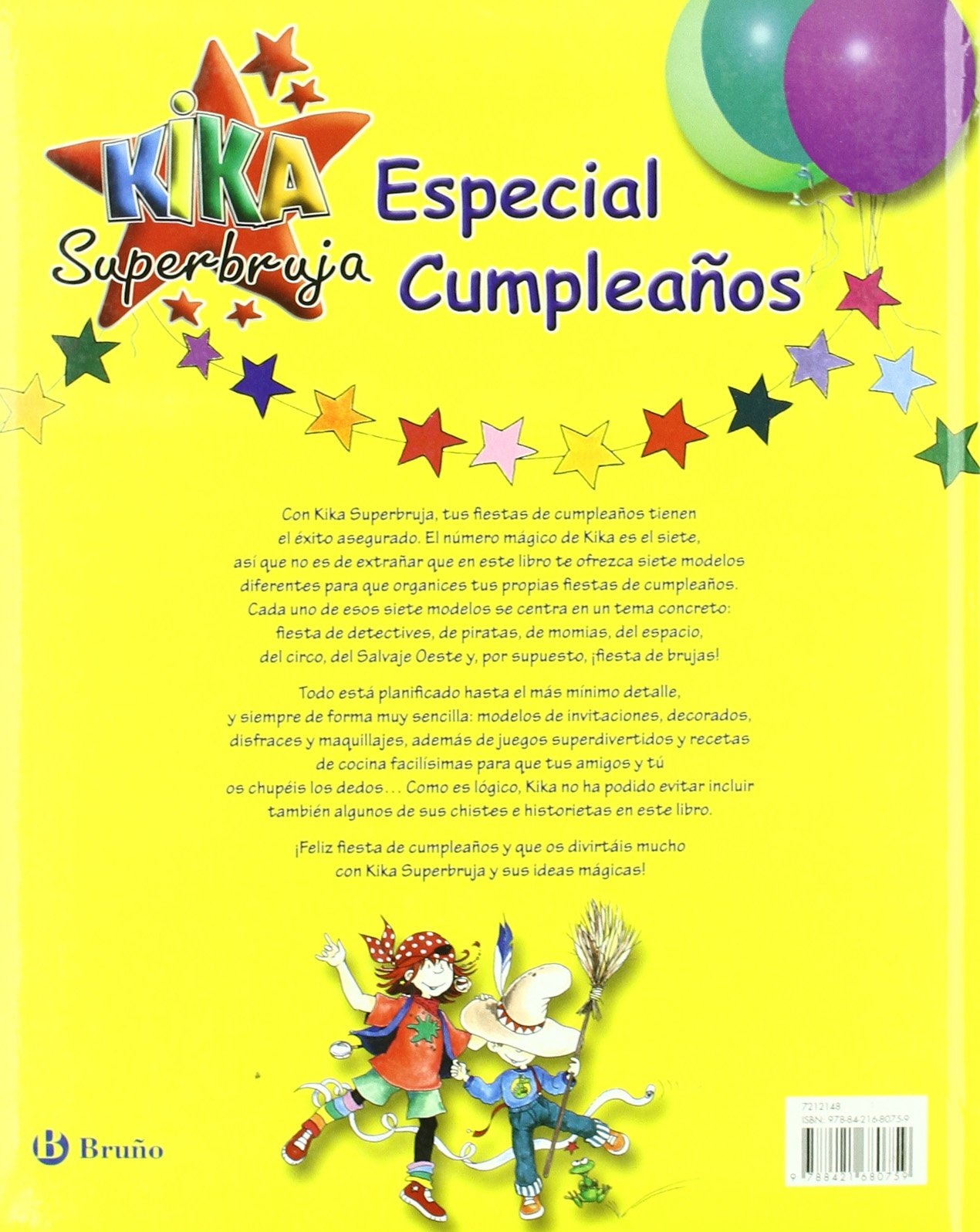 Kika Superbruja especial cumpleanos / Kika Superwitch ...
