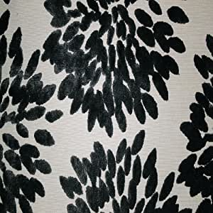 A Floral Pattern Burnout Velvet Upholstery Fabric by the Yard Florence Fiori