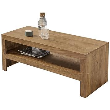 Finebuy Couchtisch Massiv Holz Akazie 110 Cm Breit Wohnzimmer Tisch