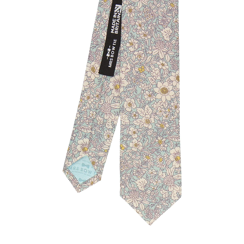 Mrs Bow Tie Charlton Floral Necktie Skinny Tie Standard Tie