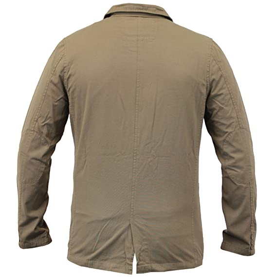 acd411d467 Uomo Casual Slim Toppe Blazer Giacca Da Brave Soul - Grigio sabbia ...