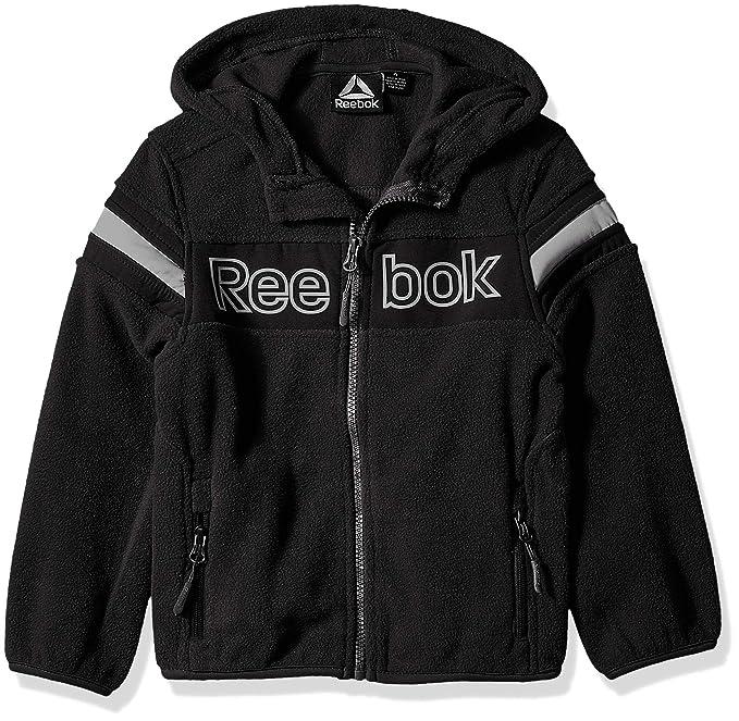 Reebok Boys Active Polar Fleece with Softshell Jacket