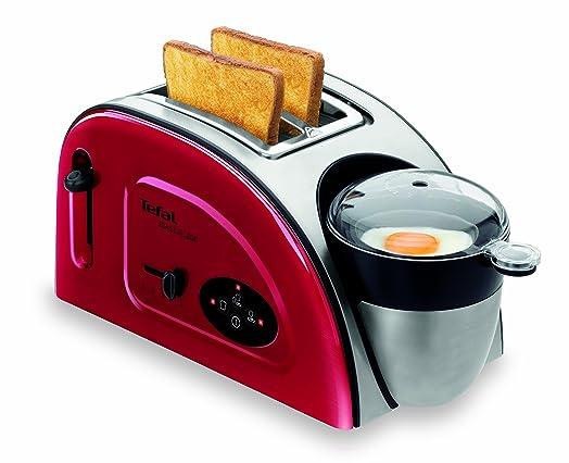 Tefal TT Toast N Egg Maker Metallic Red Amazon
