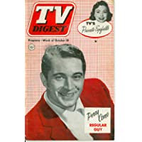 1952 TV DIGEST October 18 Perry Como (44 pg) - Philadelphia Edition NO MAILING LABEL Good to Very Good (2 1/2 out of 10) Well Used by Mickeys Pubs