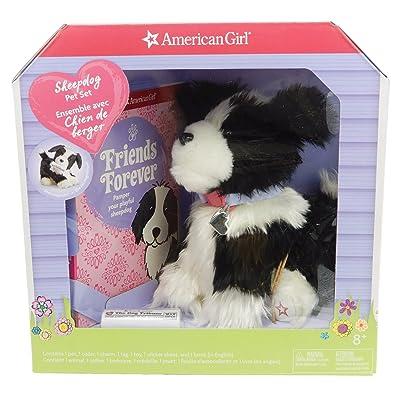 American Girl Sheepdog Pet Set: Toys & Games