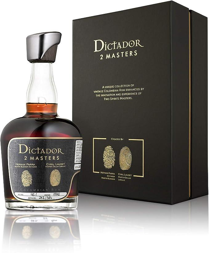 Dictador Rum 2Masters Laballe 1976 46% 2nd, 1 x 0,7: Amazon ...