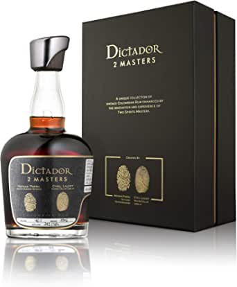 Dictador Rum 2Masters Laballe 1976 46% 2nd, 1 x 0,7 ...