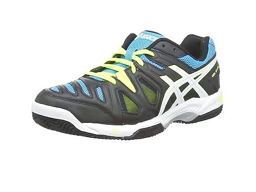 sports shoes e89e0 66cc5 ASICS Gel-Game 5 Clay, Tennis Hommes - Noir (Onyx Pistachio