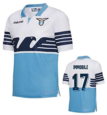0ce60f808 SS Lazio Immobile Authentic Match Home Shirt 2018-19 Original Product (S  (Chest