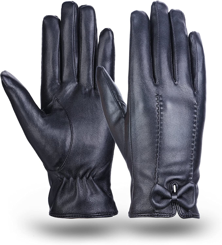 Leather Gloves MEZETIHE...