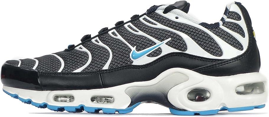 volumen Peladura patrocinado  Nike Air Max Plus TXT TN Hombre Zapatillas, Black/Vivid Blue-white:  Amazon.com.mx: Ropa, Zapatos y Accesorios
