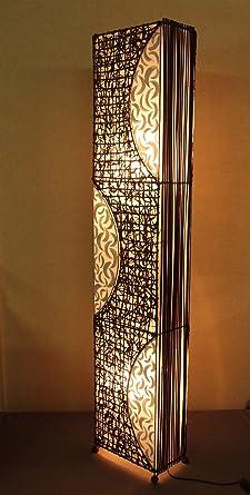 Lámpara de pie asiatica Malang (LA12-45), Decoración ...