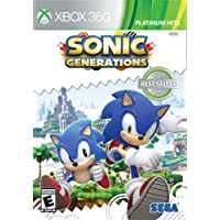 Sonic - Generations - Microsoft Xbox 360