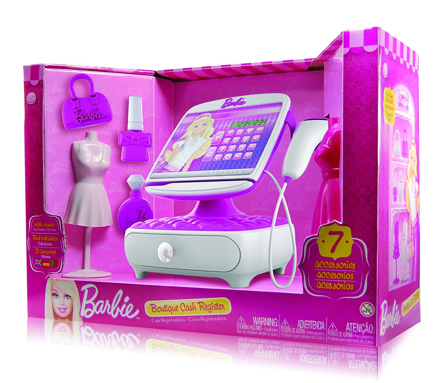 barbie cash register toy