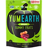 YumEarth Organic Halloween Gummy Fruits, 10 Snack Packs Per Bag