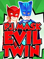 PJ MASKS In Real Life Catboy Owlette Gekko Disney Junior Parody + Johnny's Evil Twin & Bounce Houses