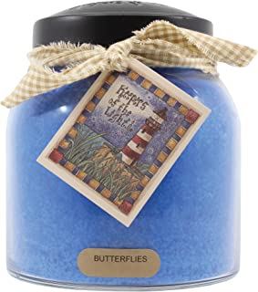 product image for A Cheerful Giver Butterflies 34 oz Papa Jar Candle, Blue