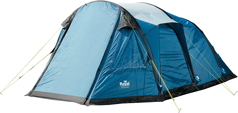 Royal Portland Air 4 Person Tent Blue