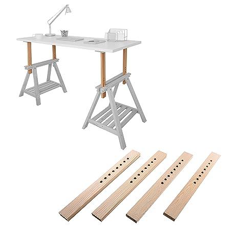 Amazoncom DIY Standing Desk Kit The Adjustable Hight Standing