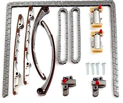ECCPP Timing Chain Kit fits for 2000 2001 for Jaguar S-Type Vanden Plas XJ8 XK8 for Lincoln LS 3.9L 4.0L TS23106 TK4162
