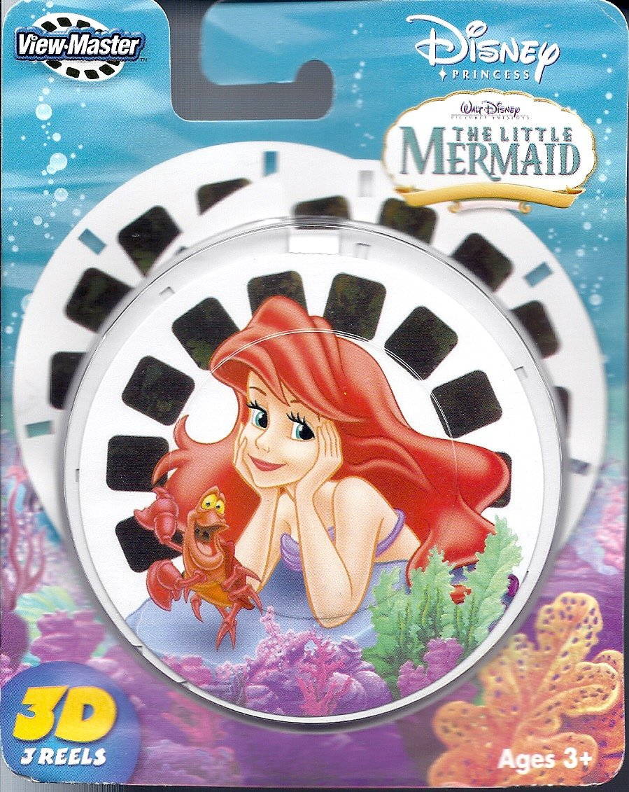 View Master Viewmaster 3D Reels - The Little Mermaid 3-Pack Set Fisher-Price C7162