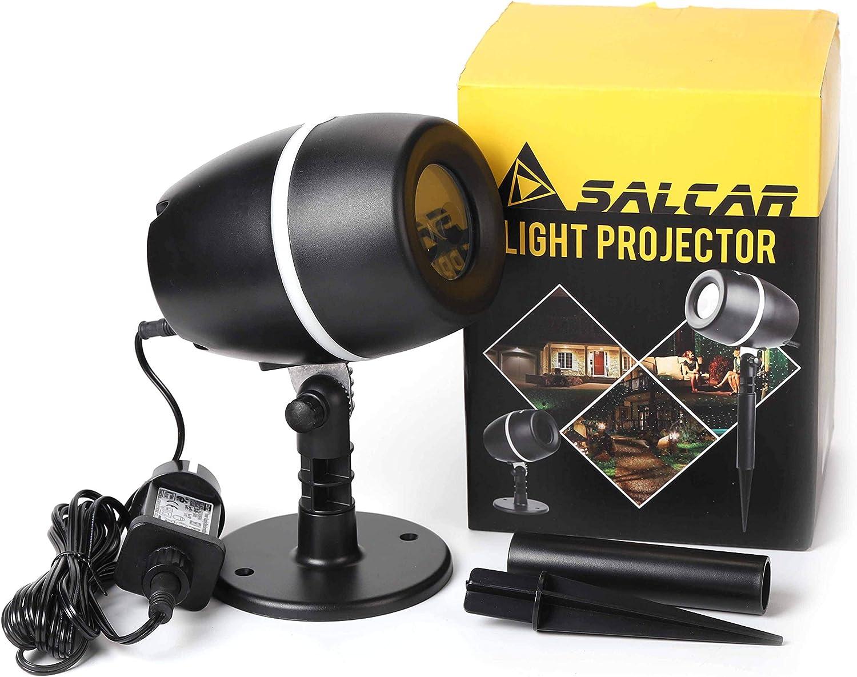 Salcar Proyector Luces de la Navidad, Efecto de luces LED ...