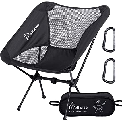 Admirable Amazon Com Wolfwise Ultralight Portable Camping Chair Alphanode Cool Chair Designs And Ideas Alphanodeonline