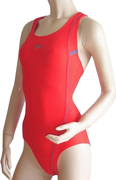 Speedo Schwimmanzug//Badeanzug 8223653979 rot