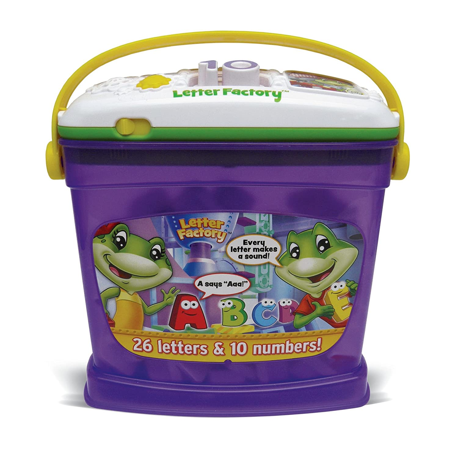 Amazon LeapFrog Letter Factory Phonics and Numbers Toys & Games