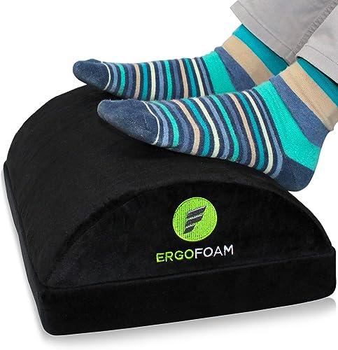 ErgoFoam Adjustable Foot Rest Under Desk