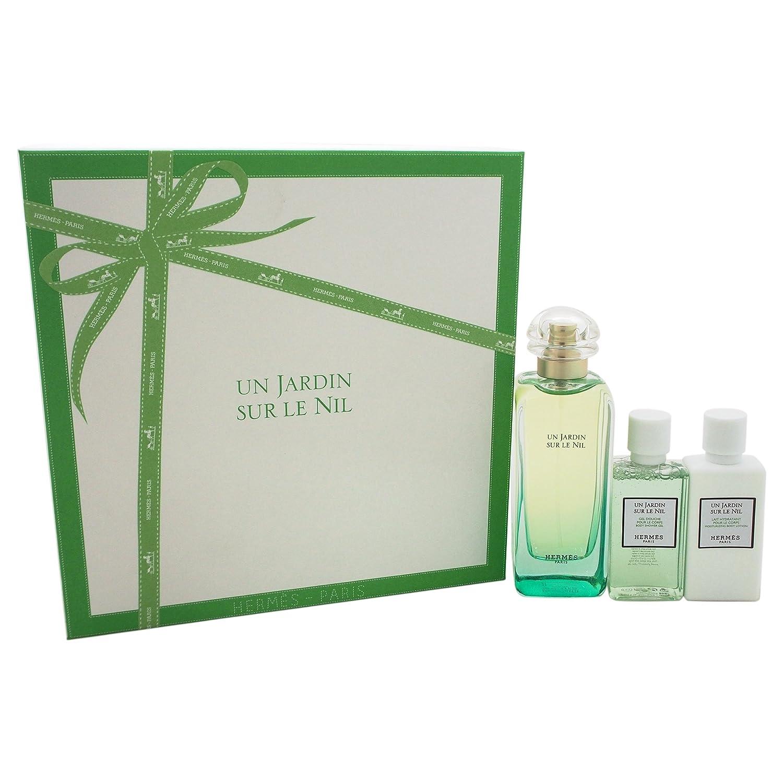 Hermes Un Jardin Sur Le Nil for Women 3 Piece Gift Set