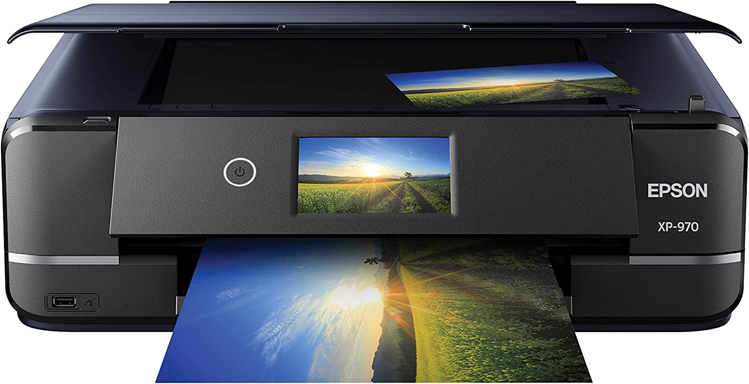Epson Expression Photo XP-970 Wireless Color Photo Printer with Scanner and Copier