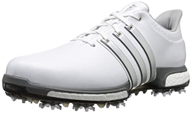 best service afcc6 4b2df adidas Golf Men s TOUR360 Boost-M, White Dk Silver, ...