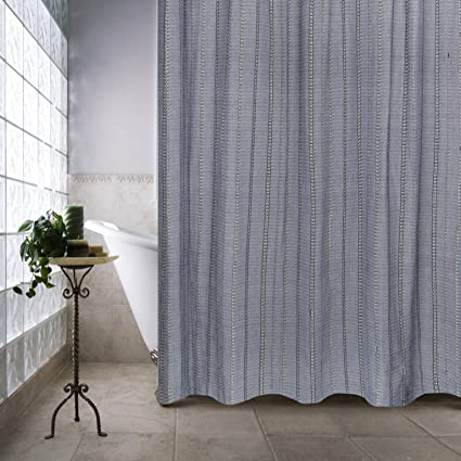 Amazon Park B Smith Eyelet Chain Shower Curtain 72 X