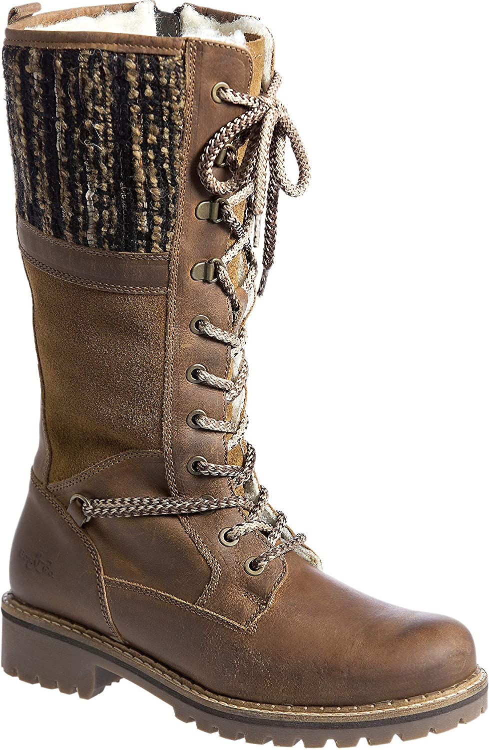 ce771102b9c Women's Bos & Co Holland Wool-Lined Waterproof Leather Boots