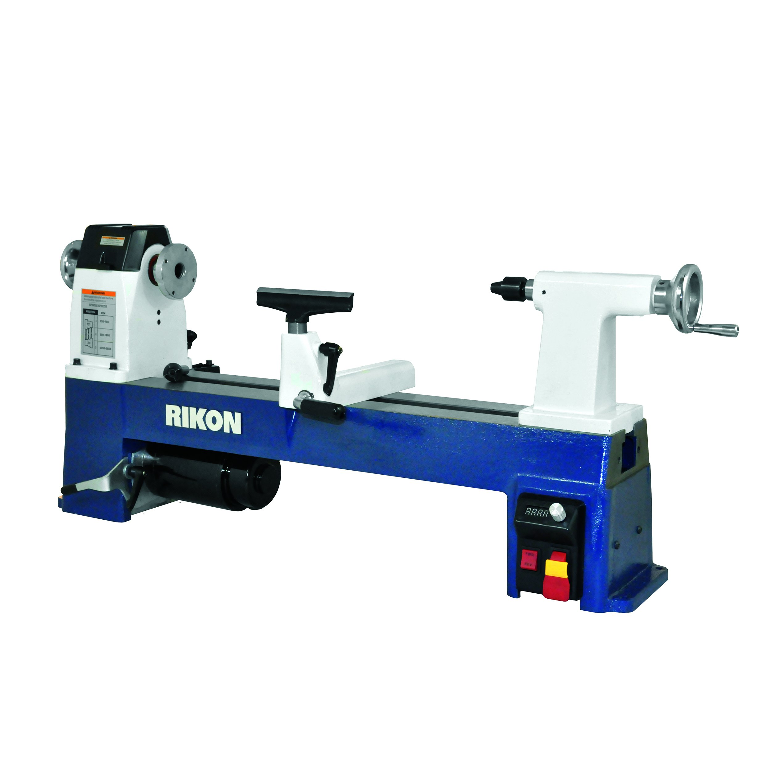 RIKON Power Tools 70-220VSR 12-1/2'' x 24'' VSR MIDI Lathe, by RIKON Power Tools