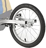Burley Design Jogger Kit D-Lite Encore Bicycle Trailer Accessory - Silver