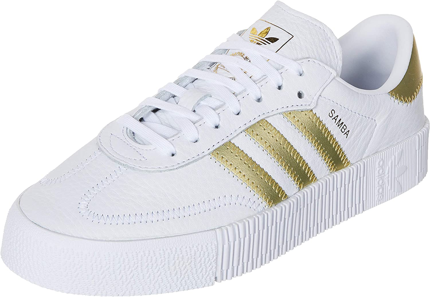 Adidas Sambarose W White Gold White 37: Amazon.it: Scarpe e
