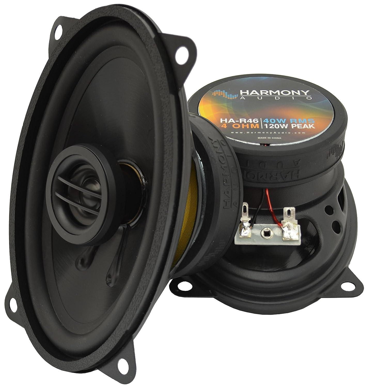 2000 chevy silverado speaker size