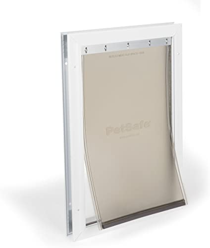 PetSafe Freedom Aluminum Dog and Cat Door – Durable Frame – Small, Medium, Large, X-Large Pets