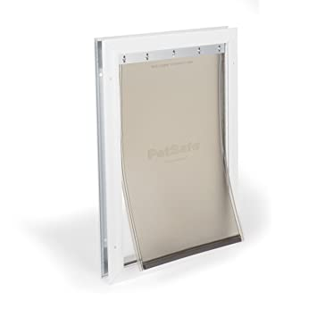 PetSafe Freedom Aluminum Pet Door for Dogs Large White Tinted Vinyl Flap  sc 1 st  Amazon.com : petsafe doors - pezcame.com