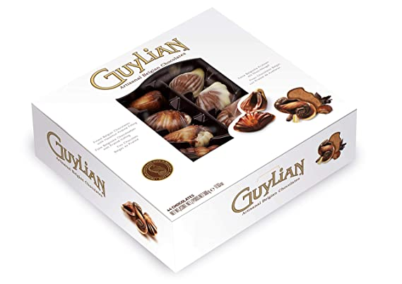 Guy Lian Original Praline Seashells Chocolates In Double Layered Gift Box 500 G by Guy Lian