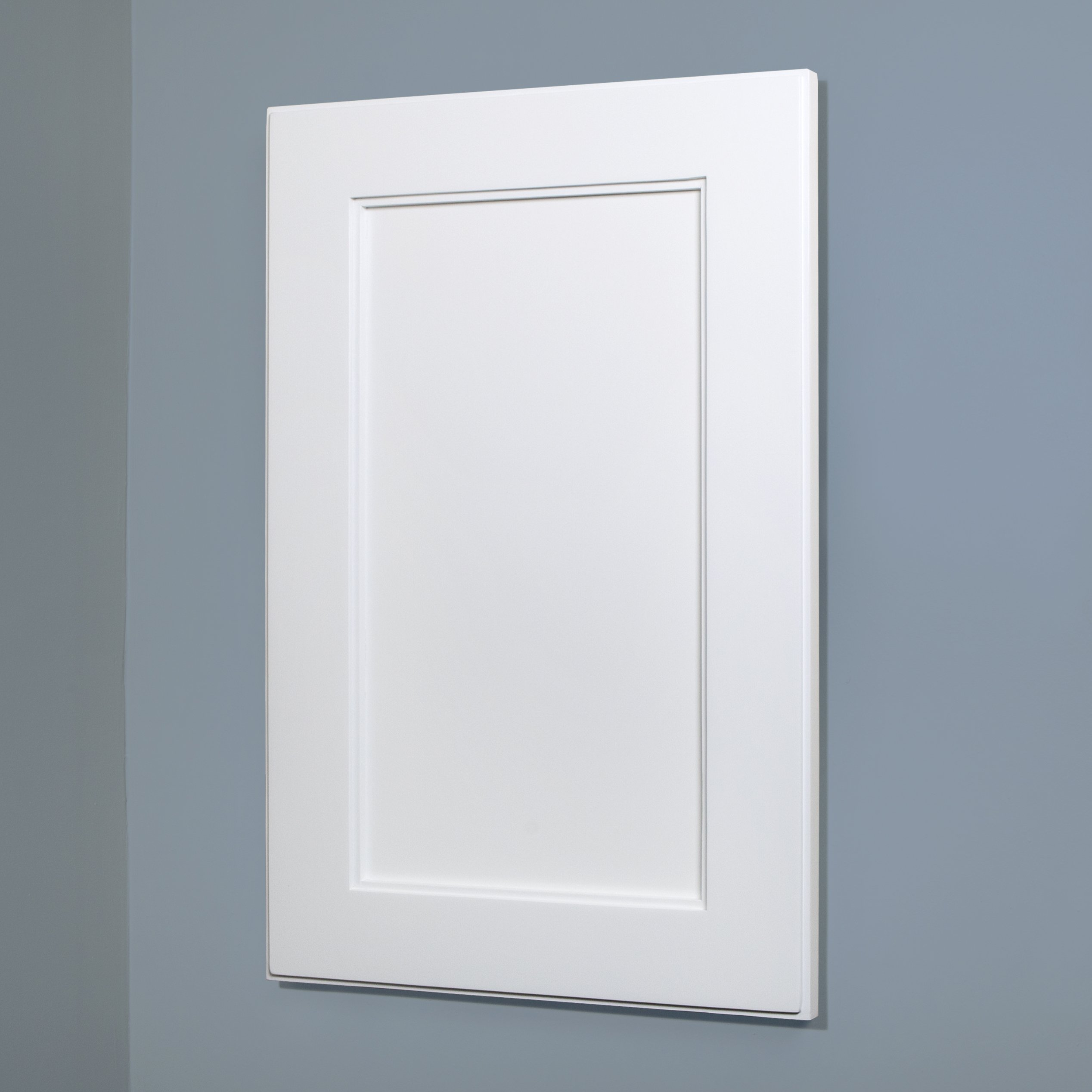 14x24 Shaker Style Recessed Medicine Cabinet by Fox Hollow Furnishings (Extra Large, White) by The Concealed Cabinet by iinnovators