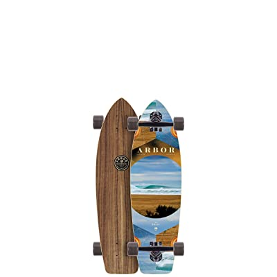"Arbor Rally Photo Complete Skateboard, Nocturnal, 30.50"" L x 8.90"" W x 20"" WB : Sports & Outdoors"