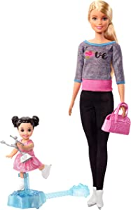 Barbie Ice Skating Coach Doll & Playset