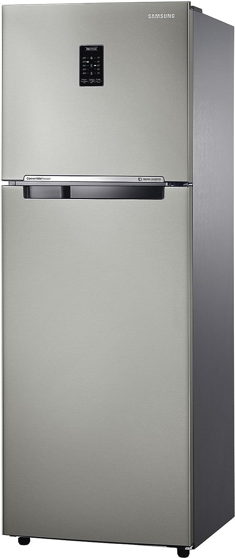 Samsung 345 L 4 Star Frost Free Refrigerator (RT36JSRZESP , Platinum ...